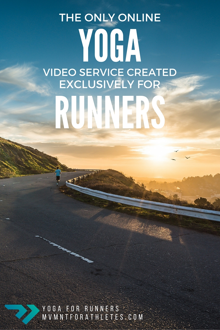 The only online yoga video service created exclusively for runners